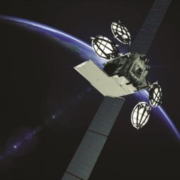 ULA won a contract to launch one of three ViaSat-3 satellites being built for Viasat. Credit: Boeing Satellite Systems