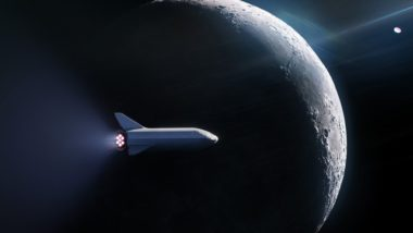 SpaceX BFR moon