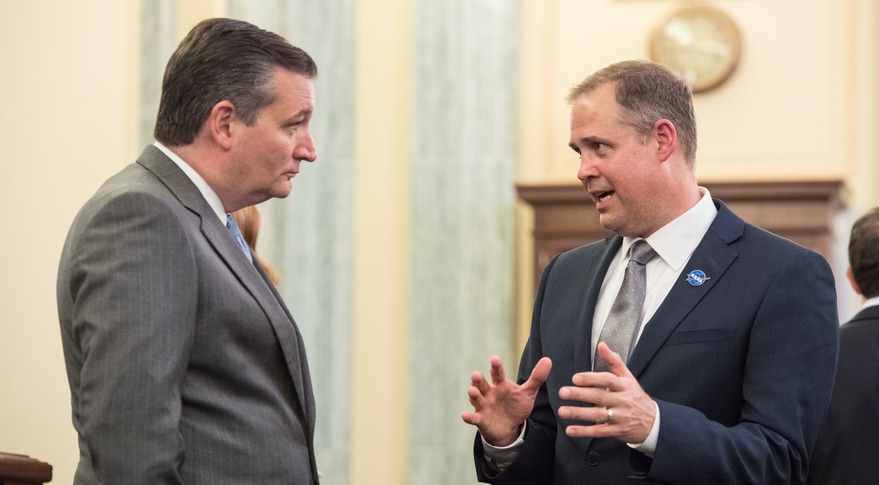 Cruz and Bridenstine