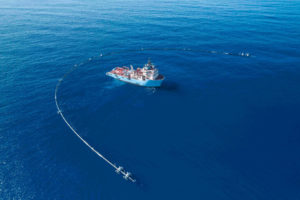 Ocean Cleanup environment Iridium