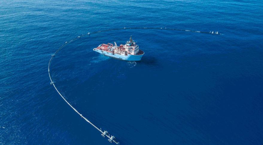 Ocean Cleanup environment Iridium