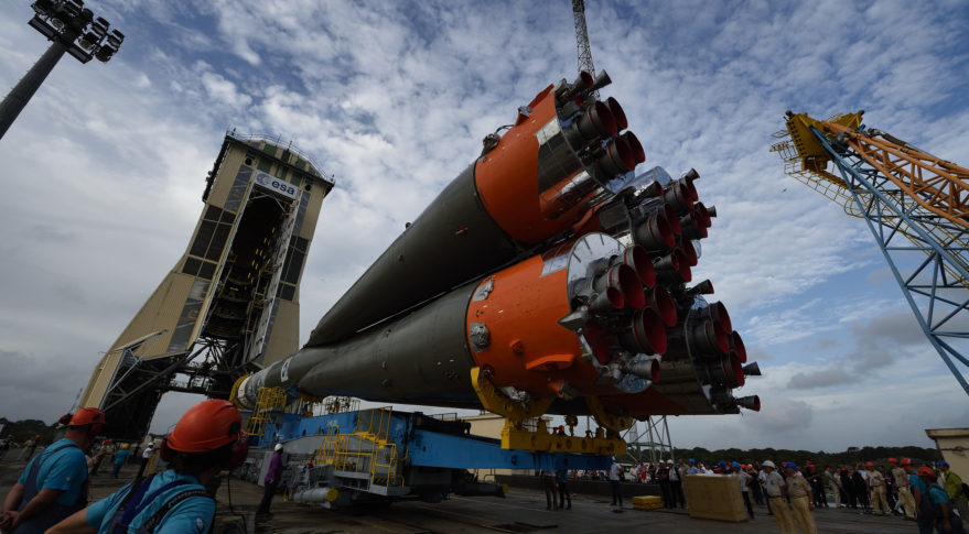 Arianespace Soyuz launch schedule unaffected by Russian MS-10 failure