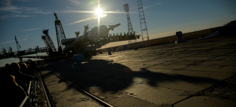 The impact of an Oct. 11 crewed Soyuz rocket anomaly on Europeanized Soyuz rockets operated by Arianespace is still unclear. Credit: NASA/Bill Ingalls