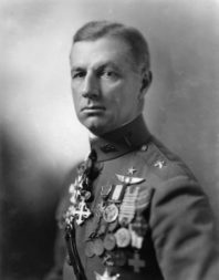 U.S. Army Brig. Gen. Billy Mitchell, an outspoken supporter of air power, often butted heads with superiors who believed the airplane was better suited for observation. In 1921, Mitchell finally persuaded the Army and the Navy to allow him to demonstrate the warfighting capabilities of the airplane by attempting to sink captured German warships. Credit: U.S. Air Force via Wikimedia