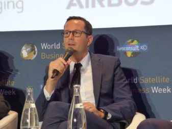 François Lombard, senior vice president and head of intelligence for Airbus Defense and Space. Credit: Airbus