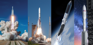 air force awards launch vehicle development contracts to blue origin northrop grumman ula
