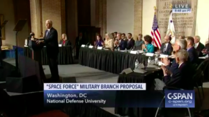 national space council votes unanimously to send space force proposal to trump