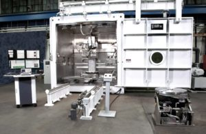 Burloak Technologies purchased the EBAM 110, one of the world's largest additive manufacturing systems, in October. Credit: Sciaky