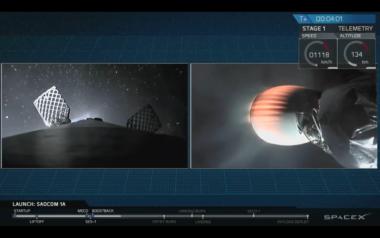 Falcon 9 Saocom-1A CONAE