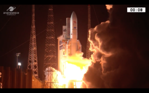 ariane 5 launches bepicolombo to mercury