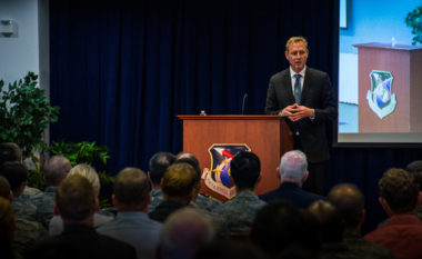 Deputy Defense Secretary Patrick Shanahan. Credit; U.S. Air Force