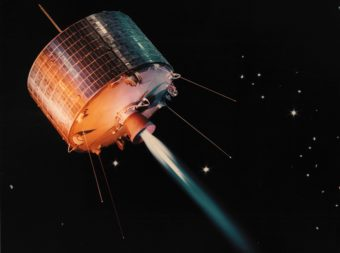 NASA launched Syncom 1 in February 1963 to prove the potential of geostationary orbits, but it stopped sending signals a few seconds before reaching final orbit. Five months later, NASA launched Syncom 2 which demonstrated the viability of the geostationary satellite. Syncom 3, the next satellite in the series, transmitted live coverage of the 1964 Olympic games in Tokyo to stations in North America and Europe.