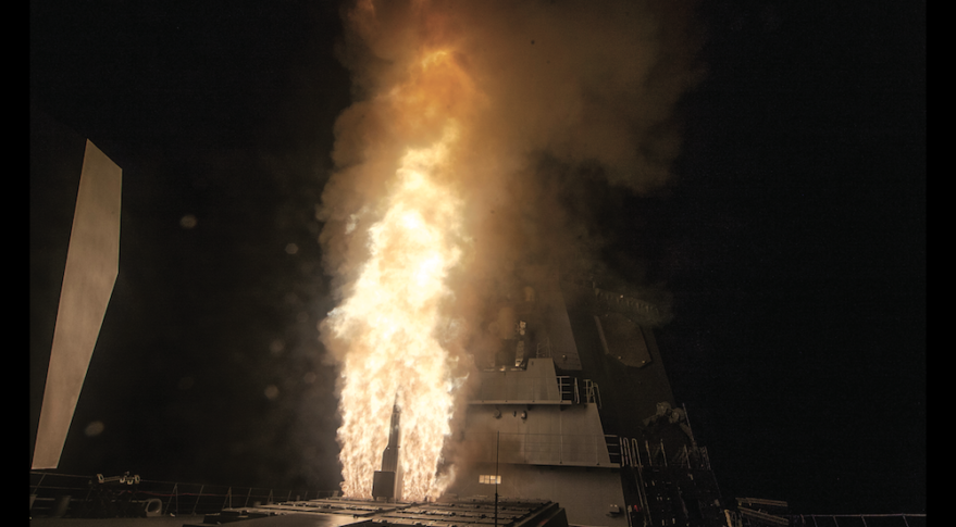 A U.S. Navy Standard Missile-3 Block IB interceptor launches from a Japanese destroyer during a Sept. 12 test of the Aegis Ballistic Missile Defense System off the coast of Hawaii. Aegis is part of the missile defense network that protects U.S. and allied warships from ballistic missile attacks. The Missile Defense Agency wants to add a new layer of space sensors to detect and track hypersonic weapons that China and Russia are developing. Credit: U.S. Missile Defense Agency