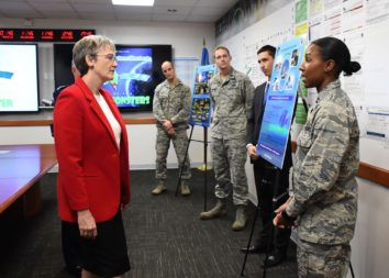 Air Force Secretary Heather Wilson. Credit: U.S. Air Force