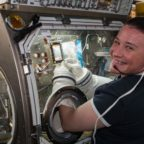ISS experiment