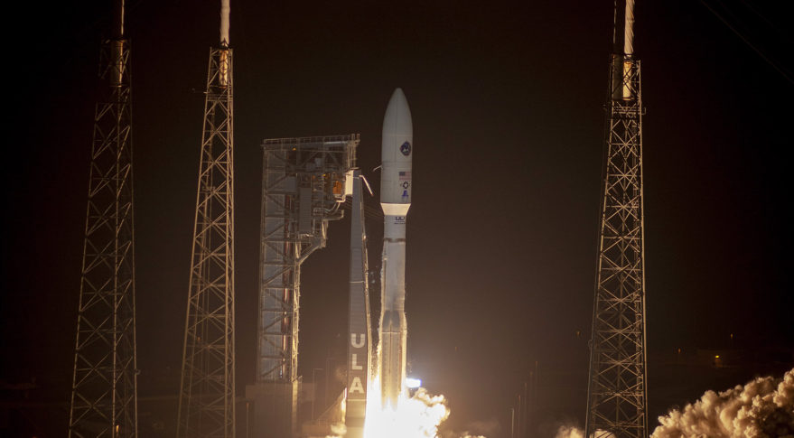 Atlas V carries USAF communications satellite into orbit