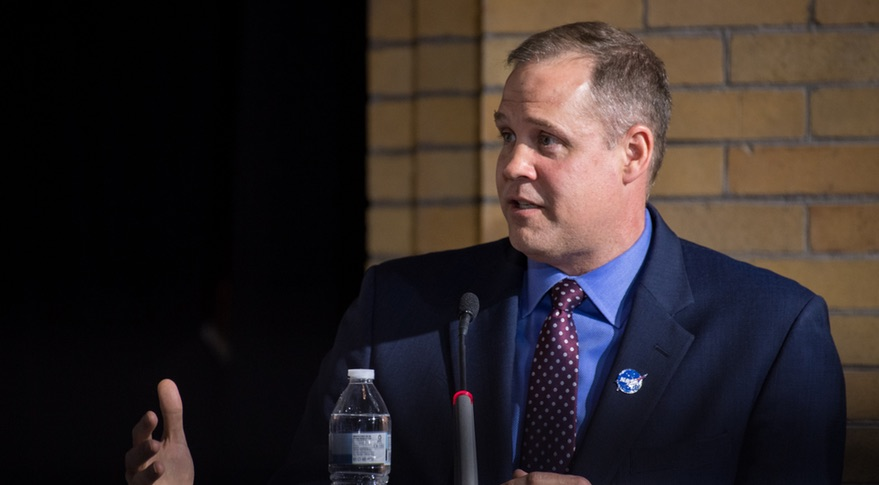 Bridenstine space council