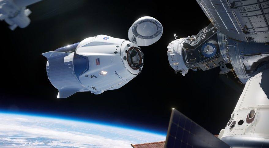 Crew Dragon docking