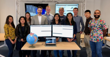 Audacy, a Silicon Valley startup planning a commercial space data relay constellation, opened its first office in Mountain View, California, in 2015. Credit: Audacy.