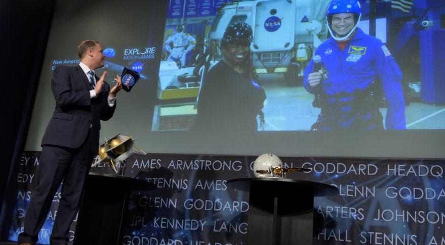 Bridenstine NASA CLPS