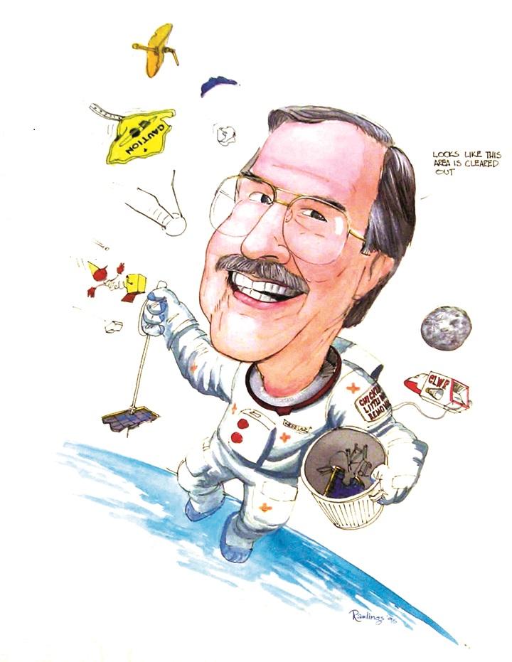 Will megaconstellations cause a dangerous spike in orbital debris?