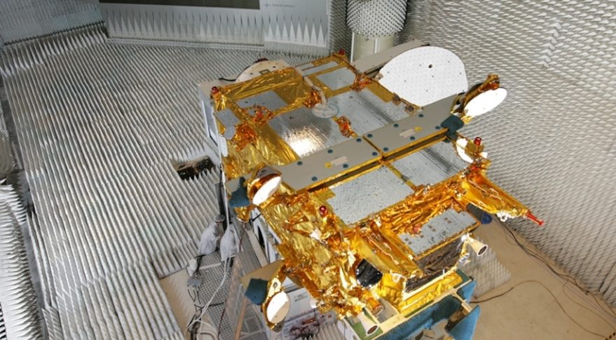 France is planning a third Syracuse 4 satellite to be ready in orbit by 2030 for military users. Photo shows Syracuse 3A, which launched in October 2005. Credit: Thales Alenia Space