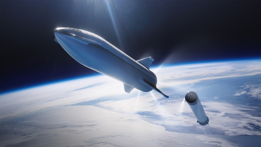 BFR stage separation