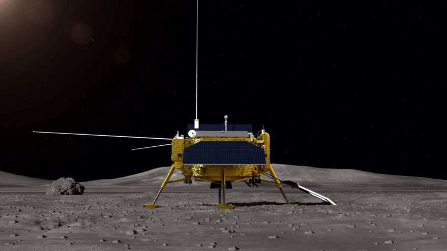 China launched a mission to the dark side of the moon