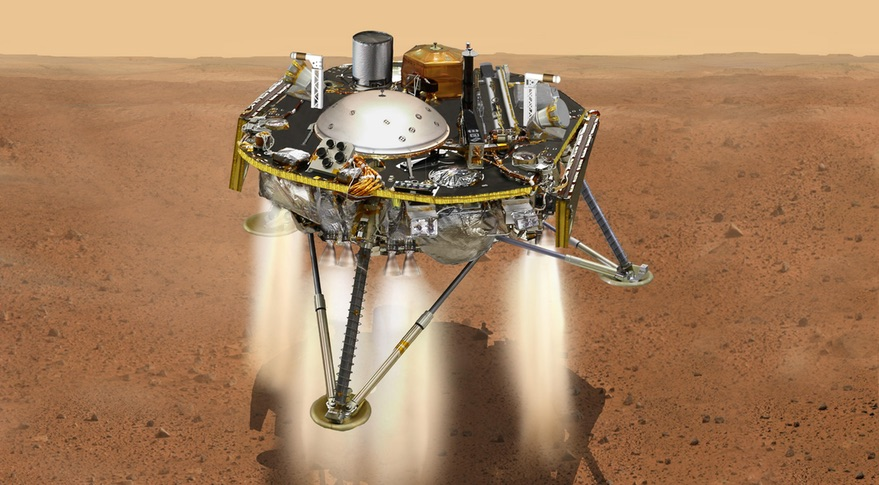 mars insight landing speed - photo #18