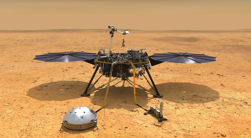 NASA's InSight lander arrives on Mars