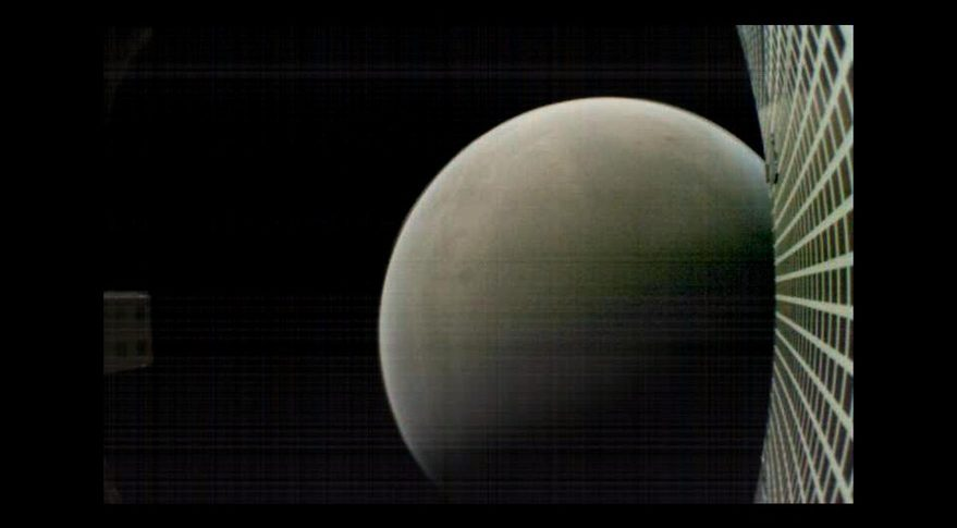 Nasa's probe lands safely on Mars, sends picture