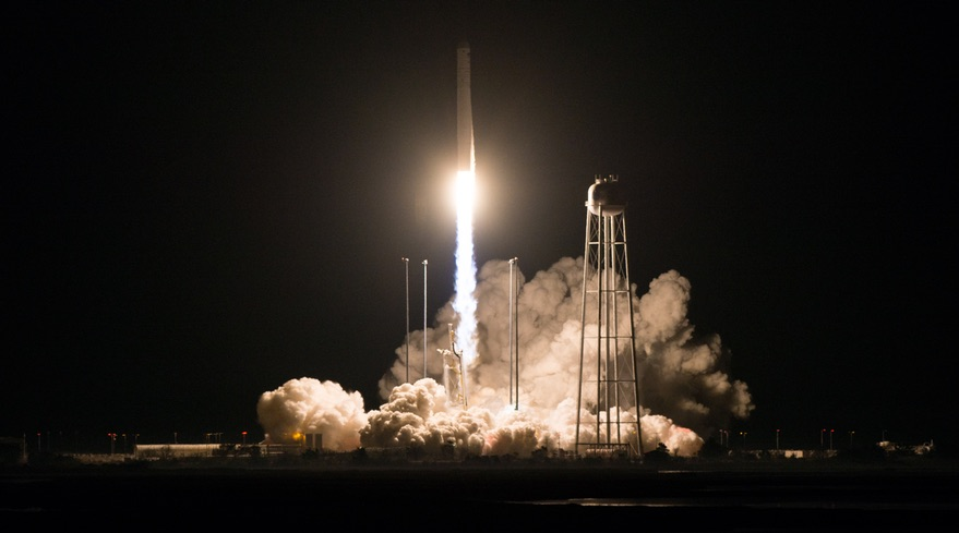 NG-10 Antares Cygnus launch