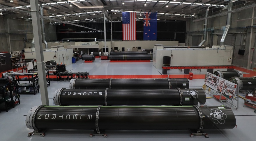 rocket Lab factory