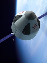 Space Tango is developing ST-42, an autonomous microgravity manufacturing facility designed to operate in low Earth orbit and reenter Earth's atmosphere. Credit: Space Tango