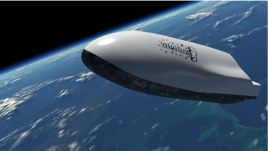 "Intuitive Machines advertises this autonomous platform designed to fly in space and hypersonically through the atmosphere ""with the precision to achieve a designated  landing site"" on its website. Credit: Intuitive Machines"