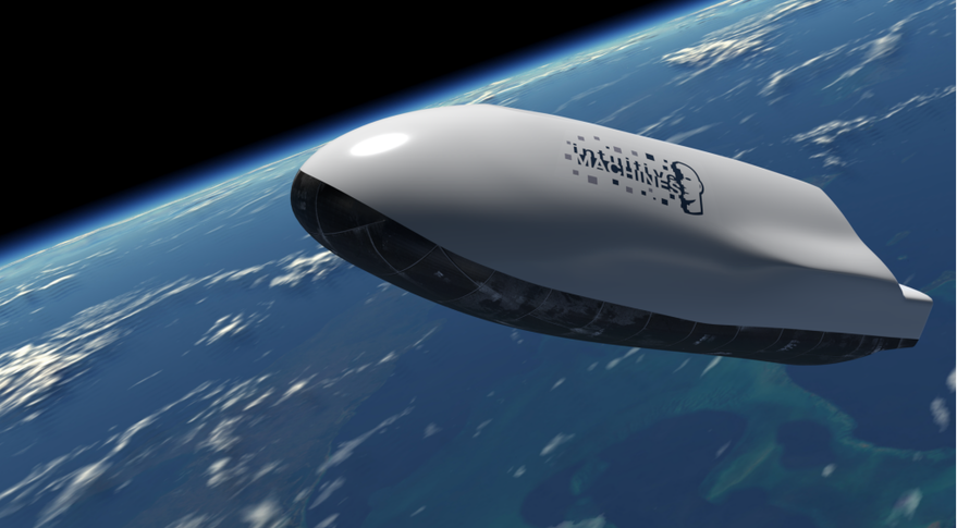 """Intuitive Machines advertises this autonomous platform designed to fly in space and hypersonically through the atmosphere """"with the precision to achieve a designated  landing site"""" on its website. Credit: Intuitive Machines"""
