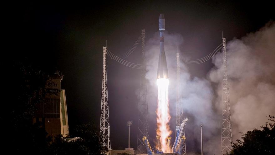 Soyuz launch Metop-C