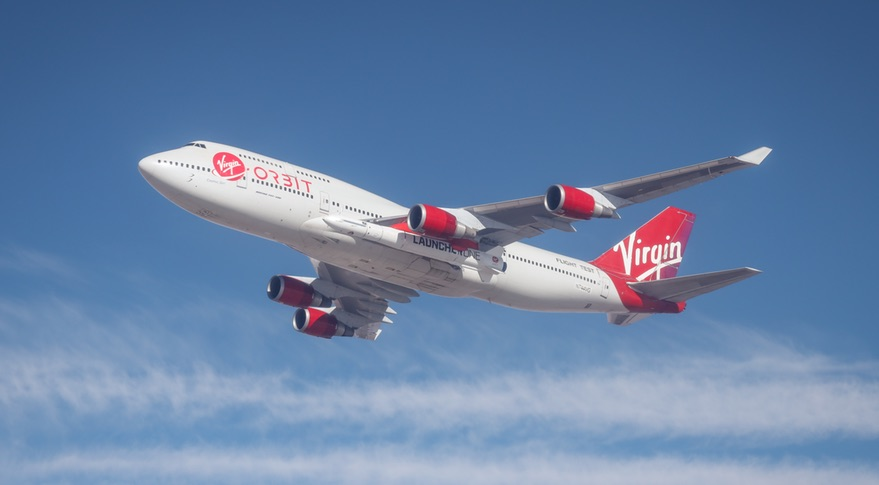 Virgin Orbit captive carry