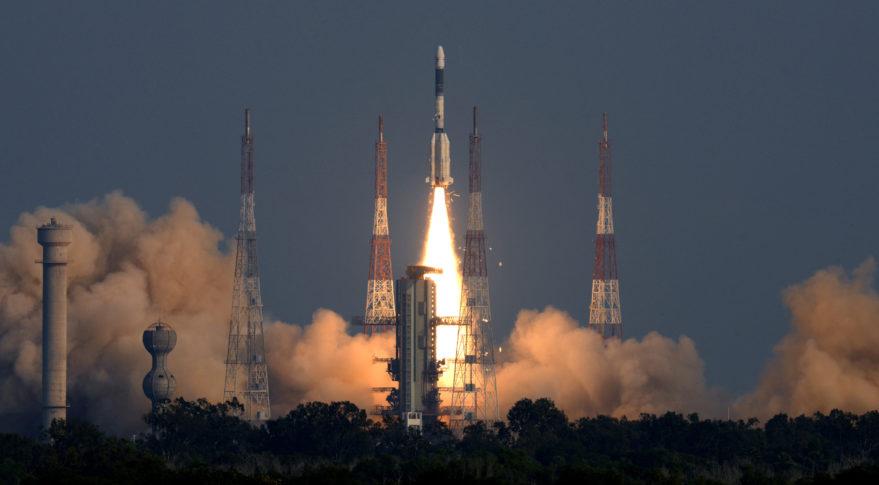 GSLV ISRO GSAT-7A