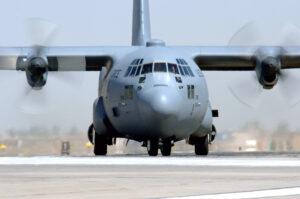 A C-130 Hercules FlexAir hatch mount Credit: U.S. Air Force