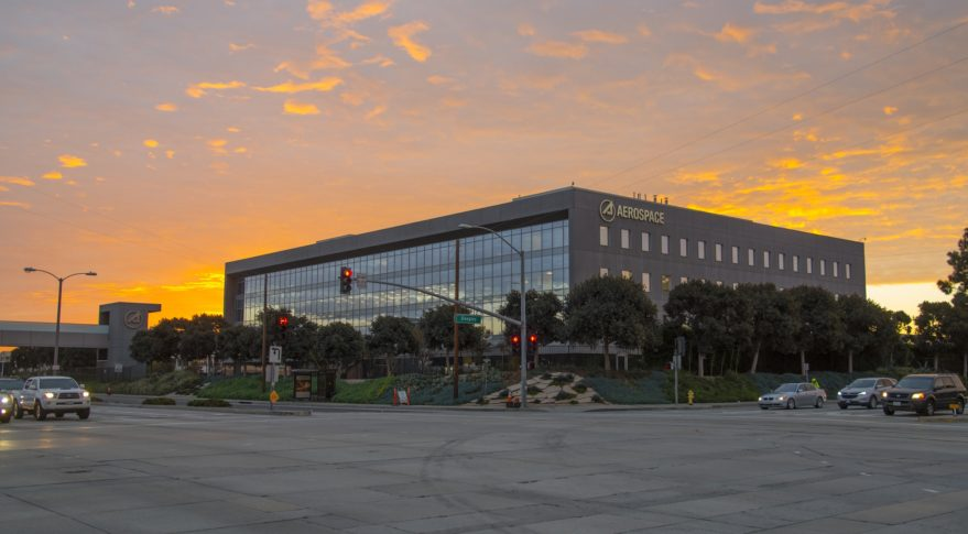 Aerospace Corp. headquarters in El Segundo, Calif. Credit: Aerospace Corp.