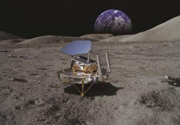Lockheed Martin McCandless Lunar Lander concept. Credit: Lockheed Martin