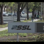 """Maxar sold SSL """"Building 1"""" for $70 million and will relocate 400 engineers to another facility. Credit: SSL video still."""