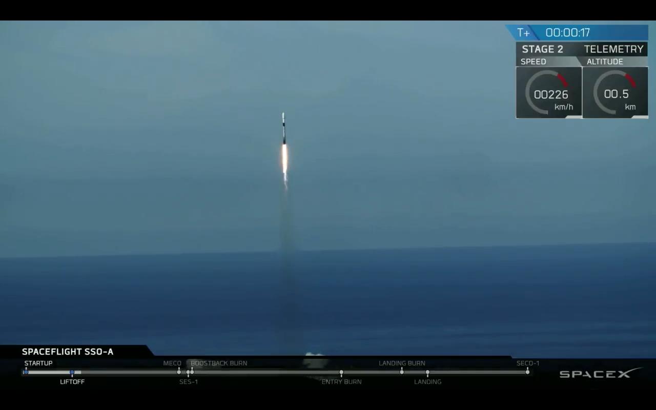 Smallsat Express Spaceflight Falcon 9 SpaceX