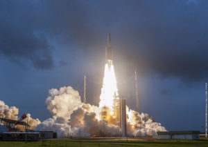 Arianespace launches two Asian satellites on Ariane 5 rocket