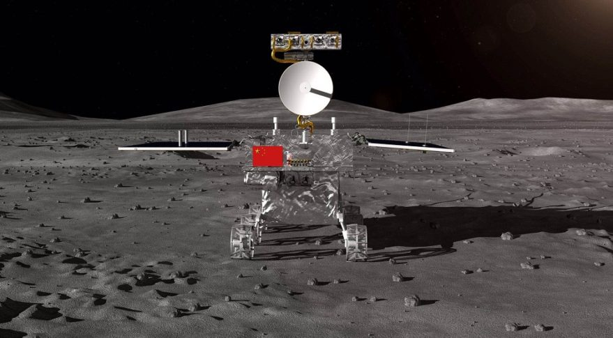 China will attempt to land the Chang'e-4 lunar lander on the moon's farside in January. Credit:  Chinese Academy of Sciences illustration