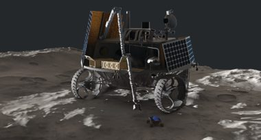 Deep Space Systems mobile lander concept. Credit: Deep Space Systems