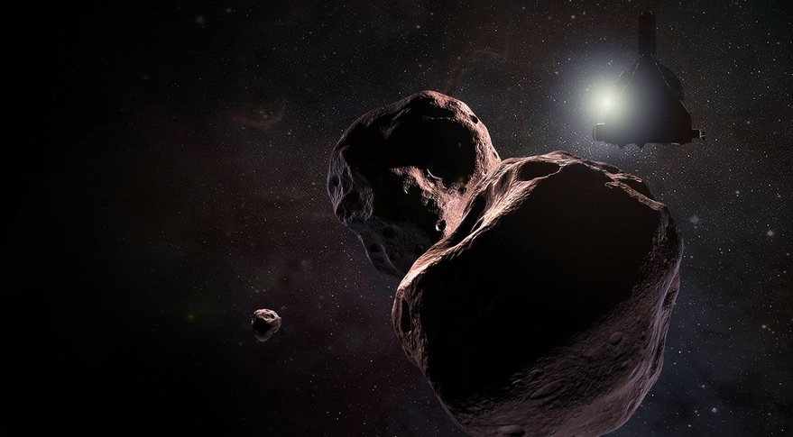 NASA spacecraft dashes by world beyond Pluto