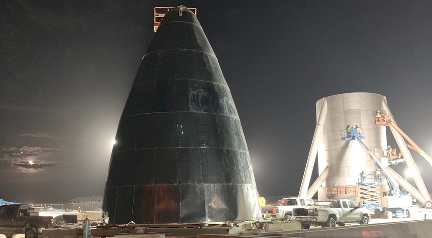 Starship test hopper