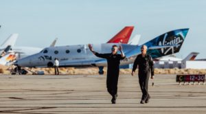 virgin galactic flight wins praise from government and industry